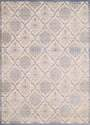 7-Foot 10-Inch X 10-Foot 6-Inch Elegant Trellis Light Blue Area Rug