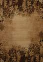 7-Foot 10-Inch X 10-Foot 6-Inch Autumn Trace Toffee Area Rug