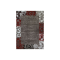 1-Foot 10-Inch X 3-Foot Scarlet Valence Rug