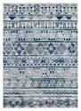 7-Foot 10-Inch X 10-Foot 6-Inch Bali Blue & Gray Area Rug
