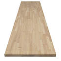 98 x 25 x 1.5-Inch Hevea Wood Top