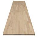 74 x 39 x 1.5-Inch Hevea Butcher Block Wood Top