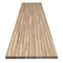 98 x 25 x 1-1/2-Inch Acacia Butcher Block Wood Top