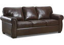 Alden Chestnut Leather Sofa
