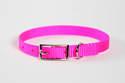 8-Inch Hot Pink Nylon Puppy Collar