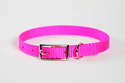 12-Inch Hot Pink Nylon Puppy Collar