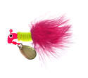 1/16 Ounce Pink And Chartreuse Original Marabou Road Runner Jig