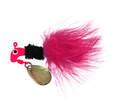 1/16 Ounce Pink And Black Original Marabou Road Runner Jig