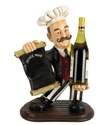 "Polystone ""House Wine"" Chef Wine Holder"