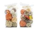 6 x 11-Inch Assorted Dried Balls Decor