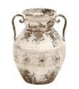 12 x 15-Inch Antique Amphora Metal Vase