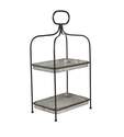 13 x 26-Inch 2-Tier Metal Tray