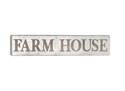 10 x 36-Inch Metal Farm House Wall Decor