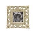 5 x 5-Inch Vintage White Wood Photo Frame
