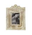 7 x 5-Inch White Distressed Wood Photo Frame