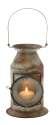 8 x 19-Inch Metal Glass Candle Lantern