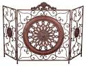 35 x 55-Inch Metal Fire Screen