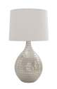 36-Inch Glass Table Lamp