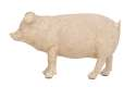 8 x 5-Inch Polystone Pig Decoration