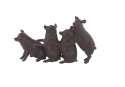13 x 7-Inch Polystone Pig Sculpture