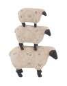 10 x 17-Inch Polystone Stacking Sheep
