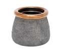 8 x 7-Inch Ceramic Vase