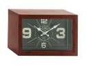 12 x 8-Inch Metal Table Clock