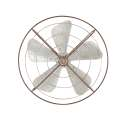 32-Inch Metal Fan Wall Decor