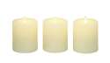 4-Inch Flameless Candle With Remote, Set Of 3