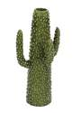 7 x 16-Inch Ceramic Cactus Decor