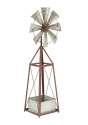 10 x 39-Inch Metal Windmill Planter