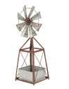 11 x 34-Inch Metal Windmill Planter