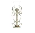 7 x 21-Inch Metal/Glass Candle Holder