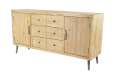59 x 31-Inch Wood Sideboard