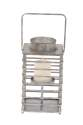 7 x 15-Inch Metal Lantern