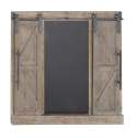 39 x 40-Inch Wood Barn Door Wall Decor