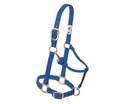 1-Inch Blue Original Adjustable Chin & Throat Snap Halter