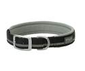 Terrain D.o.g. 1 x 19-Inch Black Reflective Lined Dog Collar