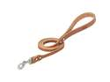 3/4-Inch X 4-Foot Buttered Harness Leather Hybrid Dog Leash
