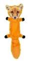 18-Inch Fur Realz Fox Flattie Plush Dog Toy