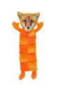 18-Inch Fur Realz Fox Squeaker Mat Pal Plush Dog Toy