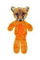 22-Inch Fur Realz Fox Full Body Flattie Plush Dog Toy