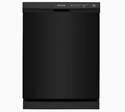24-Inch Black Front Control Built-In Dishwasher