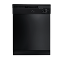 24 In Black Built-In Dishwasher