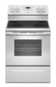 White 4.8 Cf Freestanding Electric Range With FlexHeat