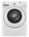 White 4.5 Cf Front Load Washer WIth Adaptive Wash Technology