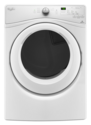 White 7.4 Cf Front Load Electric Dryer With Advanced Moisture Sensing
