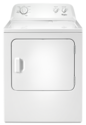 7.0 Cu. Ft. White Top Load Electric Dryer With Wrinkle Shield