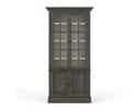 Walton Display Cabinet, Dior Gray