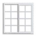 24x24-Inch Fairfield 80 Series Vinyl Slider Window